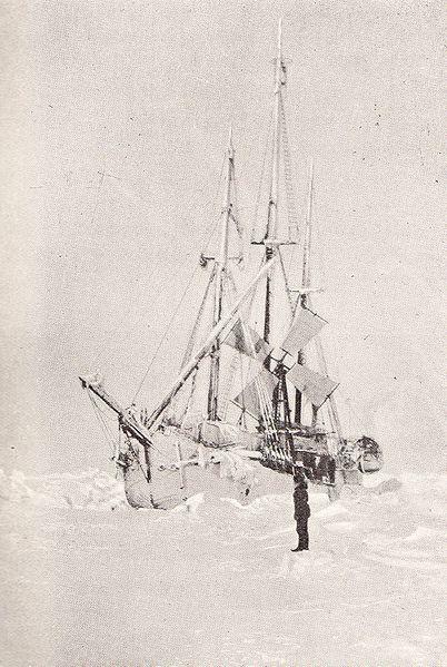 Fram during Nansen's expedition