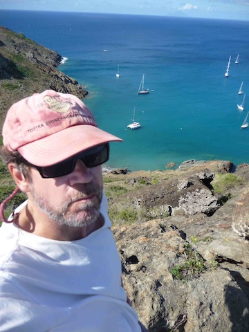 WaveTrain author on Ile de Fourche
