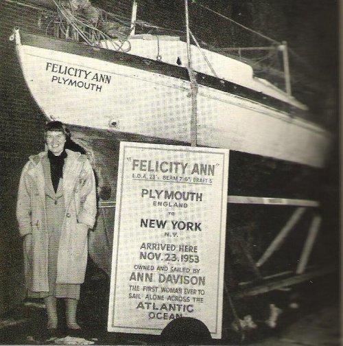 Ann Davison in New York