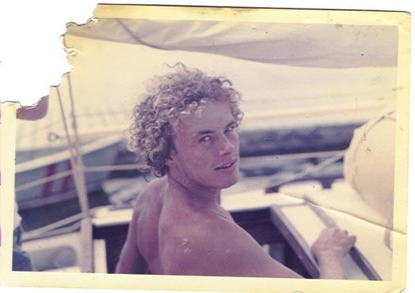 Ivo van Laake in the summer of 1970