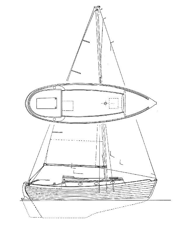 Nor'Sea 27 profile drawing