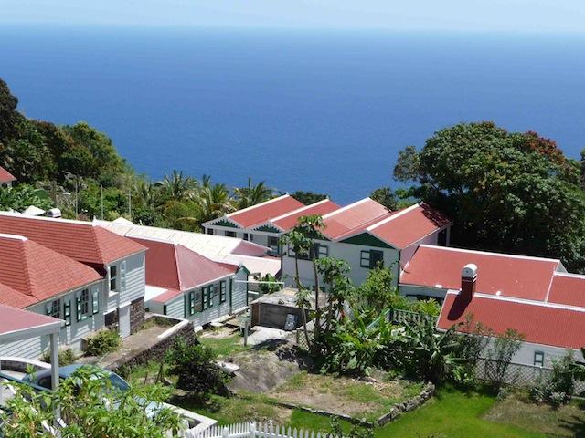 Houses on Saba