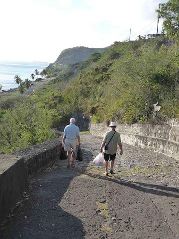 Slave Road in Oranjestad