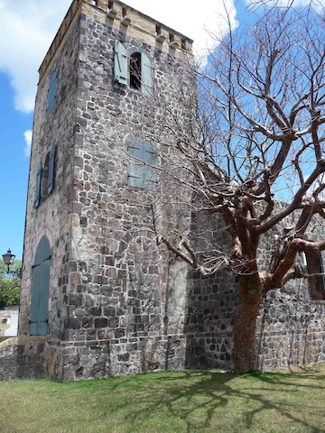 Dutch Reformed Church ruins, Statia