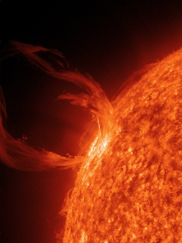 SDO image of sun