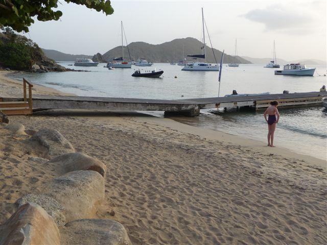 Cooper Island waterfront