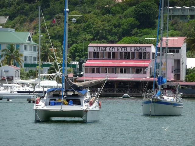 Village Cay Marina in Tortola