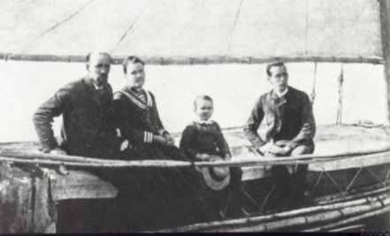 Joshua Slocum and family