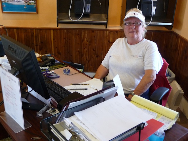 Sandra Soares of Bermuda Yacht Services