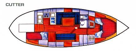Tayana 37 interior