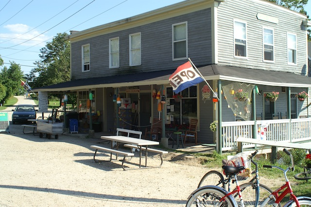 Store at Cliff Island, Maine