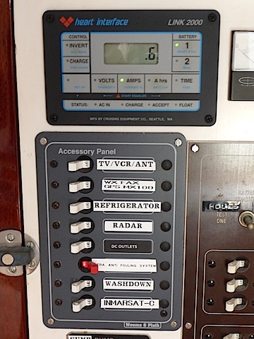 Lunacy's electrical panel