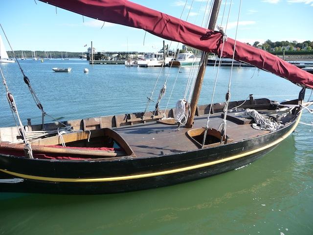 Boat in Rockland Harbor