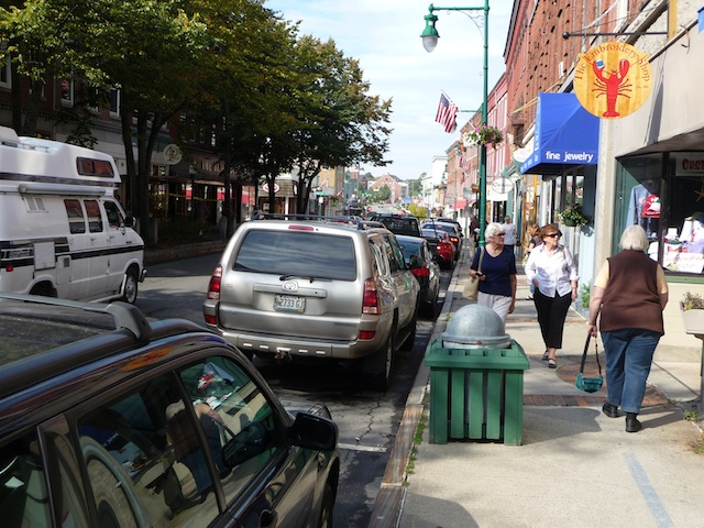 Downtown Rockland, Maine