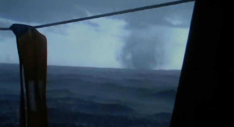 Water spout from Hold Fast