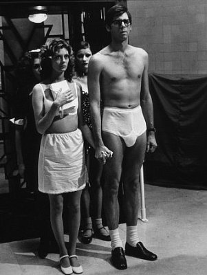 Bostwick and Sarandon in Rocky Horror