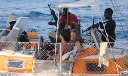 Pirates on yacht Tanit
