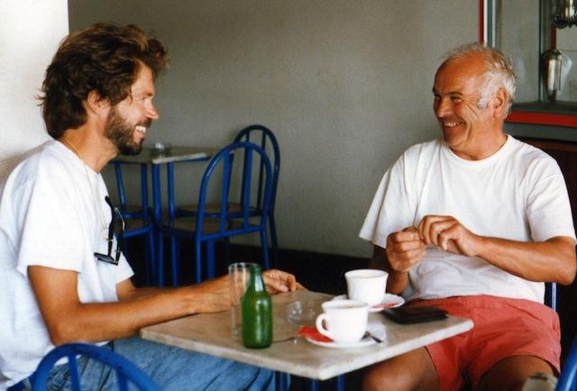 Charlie and Hans in Ponta Delgada