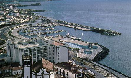 Ponta Delgada marine, Sao Miguel