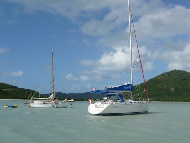 Jolly Harbor anchorage