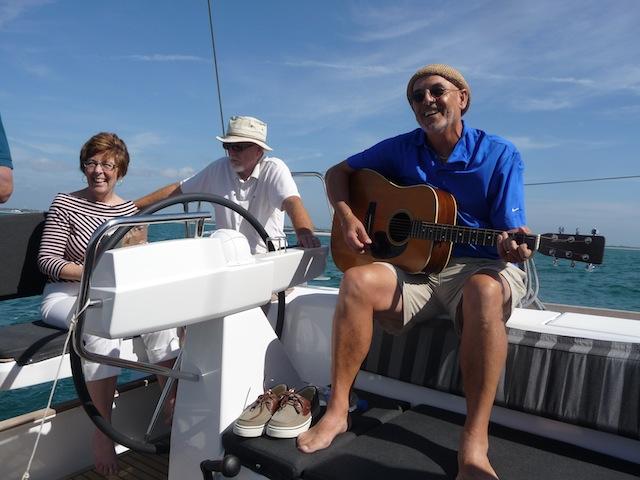 Under sail on the Sense 50