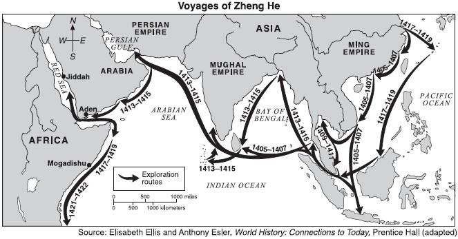 Zheng He voyages