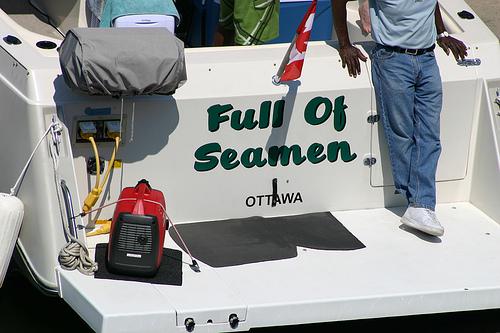 Bad boat name
