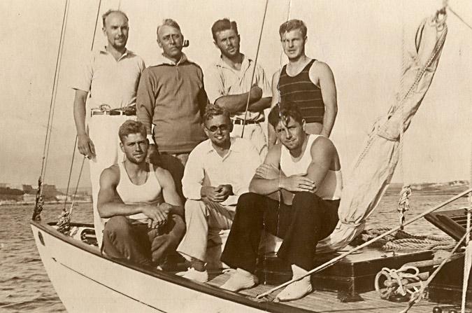 Dorade crew in 1930