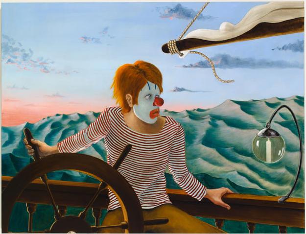 Painting by Sean Landers