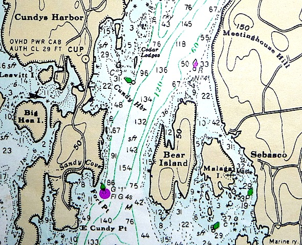 Cundy's Harbor and Malaga Island