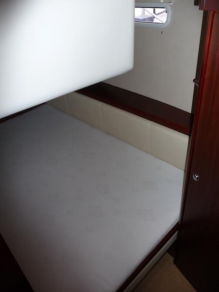 Moody 45 DS aft quarter cabin