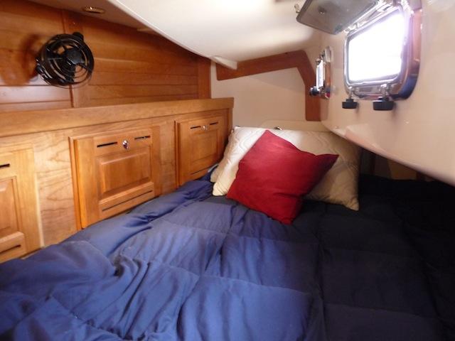 Tartan 4000 aft cabin