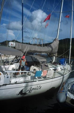 Caribbean 1500 boat in Virgin Gorda, BVI