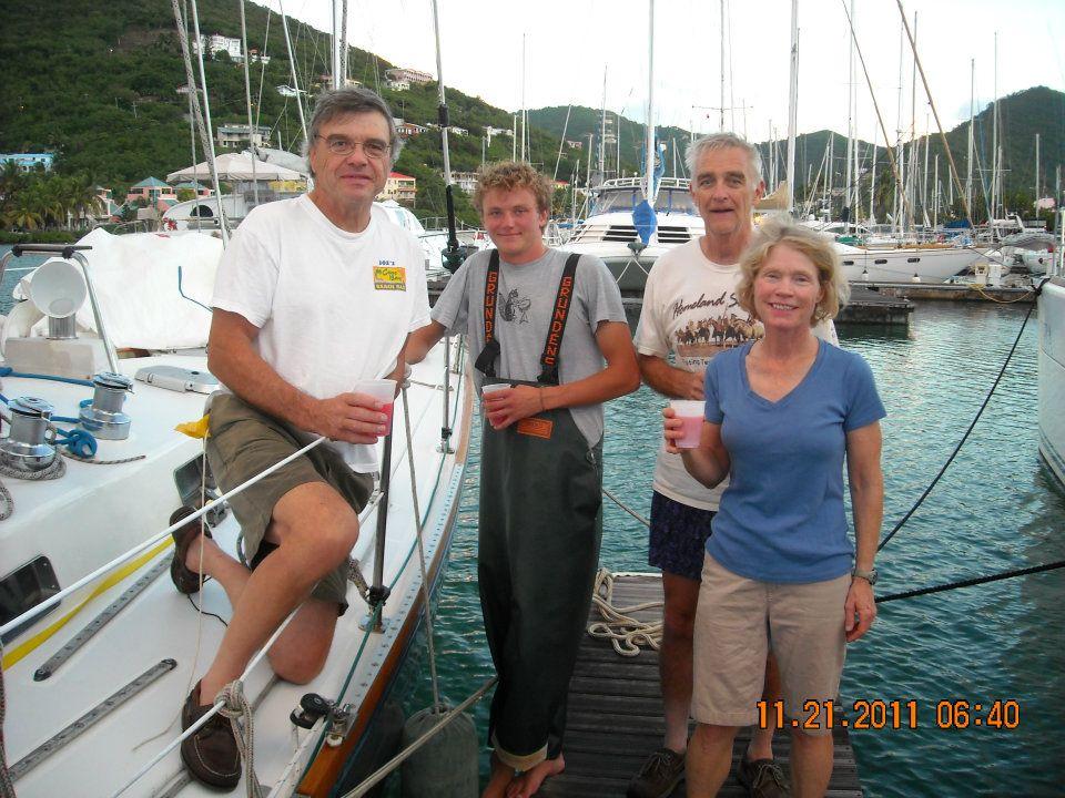 Katahdin arrives in Tortola