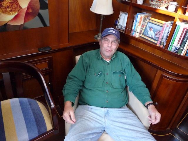 Attorney David Povich aboard Celebration
