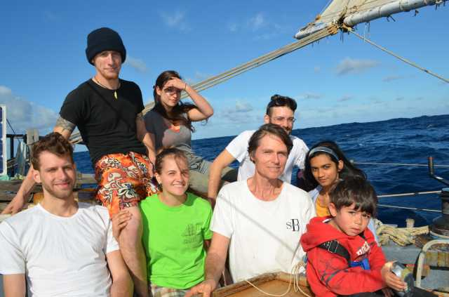 Crew of schooner Anne