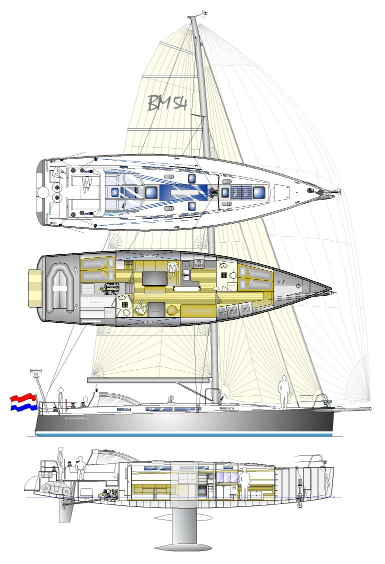 BM54 plan and layout