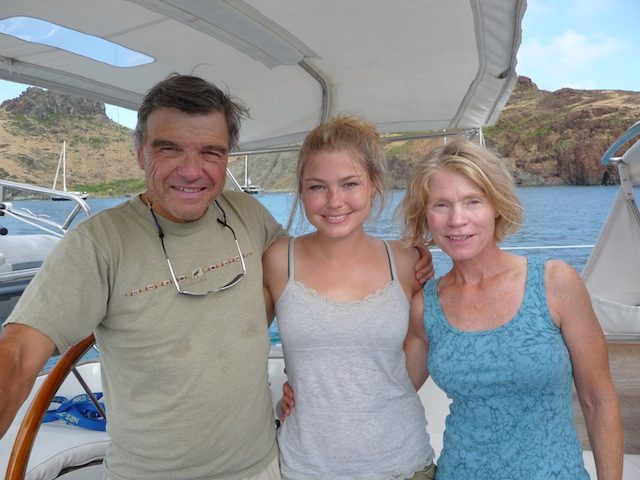Larry, Becky & Cathy Clough