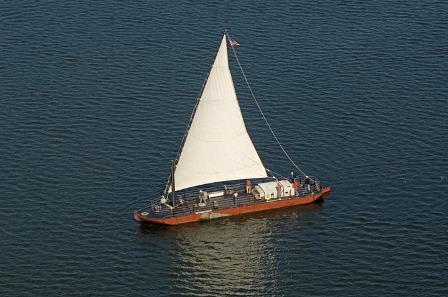 Gundalow under sail