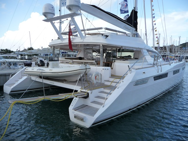 Privilege catamaran