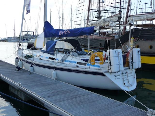 ARC boat in Las Palmas