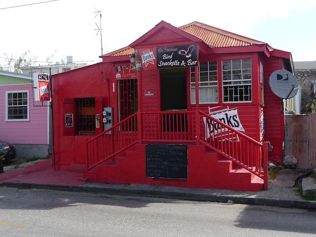 Rum shop on Barbados