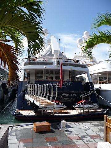 Gustavia waterfront
