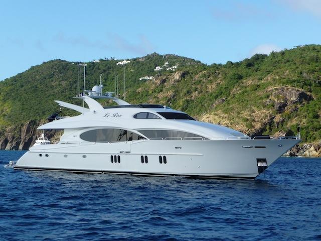 Le Reve, a motor-yacht