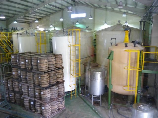 Mt. Gay distillery
