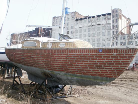 Brick boat