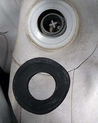 Avon inflatable valve repair