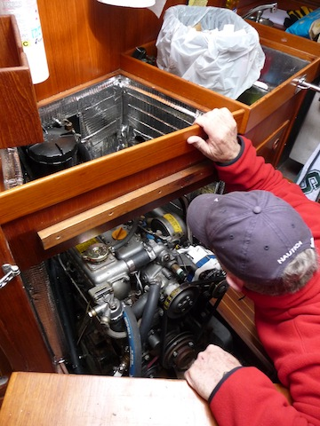 Troubleshooting an engine