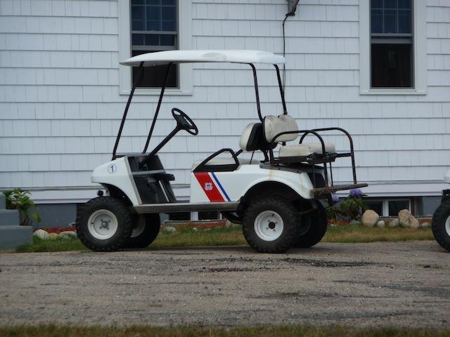 USCG golfcart