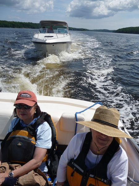 Kennebec River tow